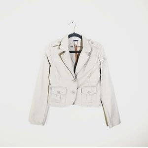 3/$25 OLD NAVY Utility Blazer Tan